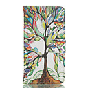Tree Pattern Card Stand Leather Case for Huawei P8/P8 Lite