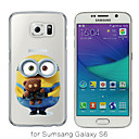 MAYCARI®Loving Little Toy Bear Soft Transparent TPU Back Case for Samsung Galaxy S4/S5/S6