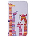Buy iPhone 7 Plus Color Giraffe Painted PU Phone Case 6s 6 SE 5s 5c 5 4s 4