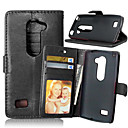 Buy Luxury PU Leather Card Holder Wallet Stand Flip Cover Photo Frame Case LG Leon 4G LTE C40 (Assorted Colors)