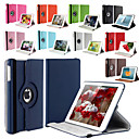 360 Degree Rotating Stand PU Leather Auto Sleep and Wake Up Case Cover for iPad Air 2 (Assorted Colors)