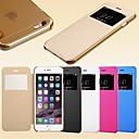 Smart View Screen Touch PU Leather Case for iPhone 6 (Assorted Colors)