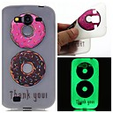 Buy Double Color Doughnuts Luminous Dream Catcher Pattern Sofe TPU Case Samsung Galaxy I9060/G530/G360/J3/J1 ACE/ON5/ON7