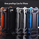 KLW 3-in-1 Metal Waterproof and Shatterproof Full Body Case for iPhone 5/5S