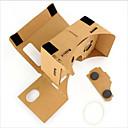 cartón vr gafas de realidad virtual tormenta espejo kit de bricolaje
