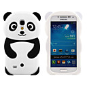 Buy Lovely 3D Animal Shaped Panda Bear Silicon Soft Mobile Phone Case Cover Back Skin Galaxy S4 mini/S3min