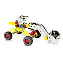 Buy Jigsaw Puzzles 3D / Play Vehicles Building Blocks DIY Toys Car 7Metal Yellow Silver Model & Toy