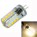 1 Stück Marsing Dimmbar / Dekorativ LED Doppel-Pin Leuchten Eingebauter Retrofit G4 4W 300-400 LM 3500 K 32 SMD 2835 Warmes WeißDC 12 /