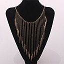 Buy Women's Choker Necklaces Vintage Statement Alloy Fashion Jewelry Silver Bronze Golden JewelryParty Daily