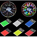 12Pcs Bicycle Spokes Reflective Rods Cycling Riding Safety Reflective Material