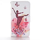 Buy Ballet Girl Design PU Leather Full Body Cases Case Huawei P8 Lite