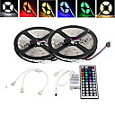 10m 150x5050 SMD RGB LED strip licht en 44Key afstandsbediening and1bin2 verbindingslijn (12V)