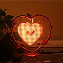 kreative Pfirsichherzlampe Schlafzimmer Nachttischlampe Beleuchtung Lampen der europäischen romantischen Persönlichkeit Geschenk