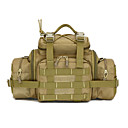 Buy Outdoor Camping Fishing Hunting Travel Hiking Fanny Pack Belt Bag Big Tablet Camera Military Tactical Waist