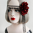 Buy Lolita Accessories Gothic / Punk Headwear Mask Sexy Elegant Red Black Vintage Women