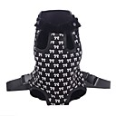 Lovely Bowknot Pattern Front Backpack Bag Pet Carrier for Dogs (S-XL)