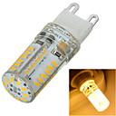 LED à Double Broches Gradable / Décorative Blanc Chaud / Blanc Froid Marsing 1 pièce Encastrée Moderne G9 5W 58 SMD 3014 400-500 lmAC