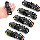 Buy Lights LED Flashlights/Torch 2000 Lumens 3 Mode Cree XR-E Q5 14500 / AAAdjustable Focus Waterproof Impact Resistant Pocket