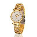 Buy Women's Stainless Steel Gold Chain Band Analog Bracelet Wrist Watch Jewelry Cool Watches Unique