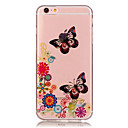 Buy iPhone 6 Case / Plus Transparent Pattern Back Cover Butterfly Soft TPU 6s Plus/6 6s/6