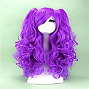 Buy 2 Colors Cosplay Wig Long Curly Synthetic Hair Heat Resistant Cosplays Party Wigs