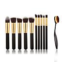 Buy 11 Makeup Brushes Set Eyeshadow Brush Blush Concealer Powder Foundation Nylon Professional Full Coverage Portable