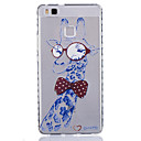 Buy Huawei Case / P9 Lite Transparent Back Cover Cartoon Soft TPU