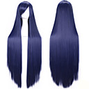 Buy 100 Cm Harajuku Anime Cosplay Wigs Young Long Straight Synthetic Hair Wig Bangs Blonde Costume Party