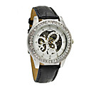 Buy Women's Mechanical Watch manual-winding Band Sparkle Black Brand WINNER