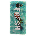Buy Samsung Galaxy Case IMD / Pattern Back Cover Word Phrase Soft TPU A7(2016) A5(2016) A3(2016) A5 A3