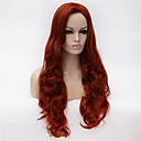 Buy Wig Anime Characters cos 30 Inch Volume Classification Wine Red Hair