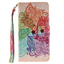 Buy Painted Colorful Flowers Pattern Card Can Lanyard PU Phone Case Samsung Galaxy A3 A5 (2016)