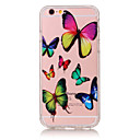 Buy TPU Material Butterfly Pattern Painted Relief Phone Case iPhone 6s Plus / 6 Plus/SE 5s 5