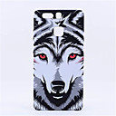 Buy Style Fluorescent Noctilucent 3D cute Cartoon Animal world Wolf Phone Case Cover P9 Plus Mate8
