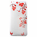 Buy Red Flower Pattern Material TPU Phone Case Huawei P9 P8 Lite
