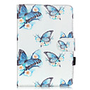 Buy PU Leather Material Butterfly Embossed Pattern Tablet Sleeve iPad mini 1 / 2 3