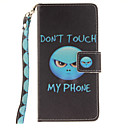 Buy Painted Anger Pattern Card Can Lanyard PU Phone Case Huawei P9 Lite P8