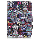 Buy PU Leather Material Skull Embossed Pattern Tablet Sleeve iPad mini 4