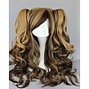 Buy Capless Costume Wigs Synthetic 18 inch Long Wavy Ombre Hair Wig 3 Colors Cosplays