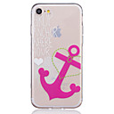 Buy TPU Material Anchors Pattern Painted Relief Phone Case iPhone 7 Plus/7/6s Plus / 6 Plus/6S/6/SE 5s 5