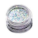 Buy 1 Bottle Nail Art Match Color Highlight Glitter Shining Colorful Powder Makeup Beauty 01