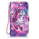 Buy Lone Wolf Painted PU Leather Material Card Holder Phone Case iPhone 7 7plus 6S 6plus SE 5S