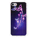 Buy Painted Butterfly Pattern Transparent TPU Material Phone Case iPhone 7 Plus 6s 6 SE 5s 5