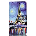 Buy Wallet / Flip Eiffel Tower PU Leather Hard Case Cover Sony Xperia X Performance M4 Aqua