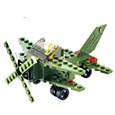 Buy Building Blocks Gift Model & Toy Fighter Plastic 6 Green Toys