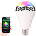 Buy E27 Bluetooth Control Smart Music Audio Speaker LED RGB Color Bulb Light Lamps(AC85-265V)