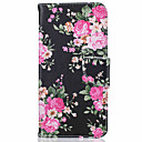 Buy iPhone 7 Case / 6 5 Card Holder Stand Flip Pattern Full Body Flower Hard PU Leather