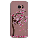 Buy Samsung Galaxy S7 edge S6 Cherry Tree Pattern TPU High Purity Translucent Soft Phone Case S5 S4 S3