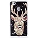 Buy Glow Dark / IMD Pattern Case Back Cover Animal Soft TPU Huawei P9 Lite P8