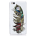 Buy Glow Dark IMD Pattern Case Back Cover feather Soft TPU Huawei P9 Lite P8